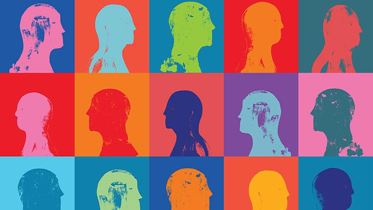 Head profiles pattern