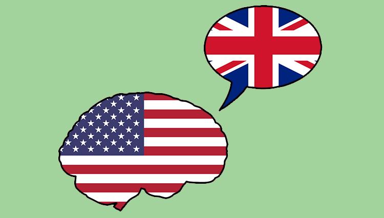 american flag and british flag